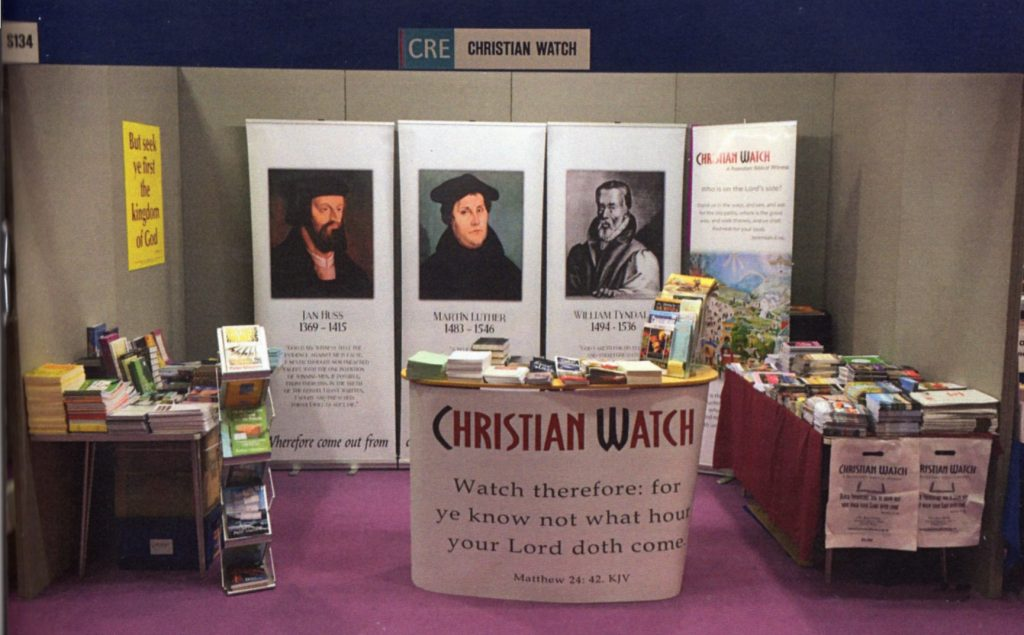 CHRISTIAN RESOURCES EXHIBITION REPORT